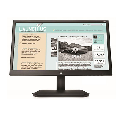 hp (v190) 18.5-inch led backlit monitor (black)